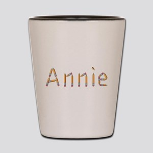 Annie Pencils Shot Glass