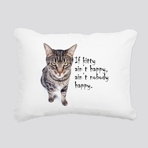 Aint Happy Rectangular Canvas Pillow