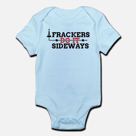 Frackers Do It Sideways Infant Bodysuit