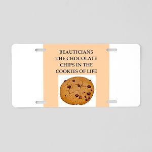 beauticians Aluminum License Plate