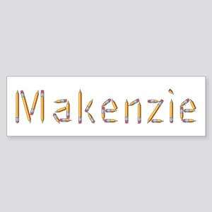 Makenzie Pencils Bumper Sticker