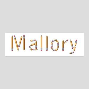 Mallory Pencils 36x11 Wall Peel