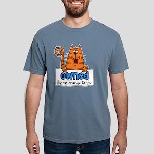 owned orange tabby shirt Mens Comfort Colors Shirt