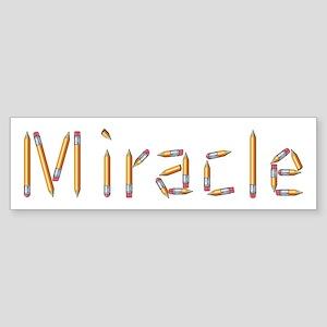 Miracle Pencils Bumper Sticker