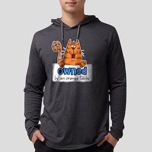 owned orange tabby shirt Mens Hooded Shirt