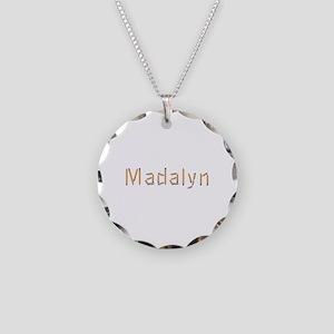 Madalyn Pencils Necklace Circle Charm