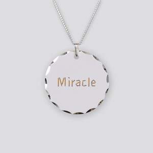 Miracle Pencils Necklace Circle Charm
