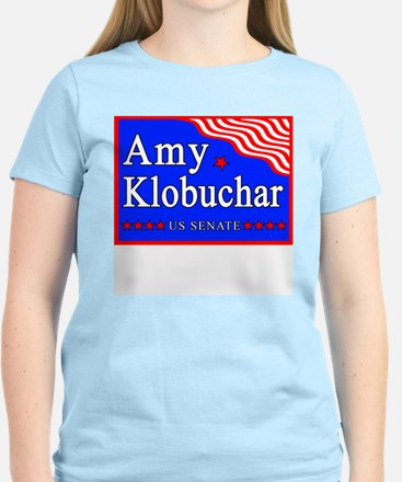 MN Amy Klobuchar US Senate Women's Pink T-Shirt