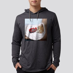 Ginger for frizbee Mens Hooded Shirt