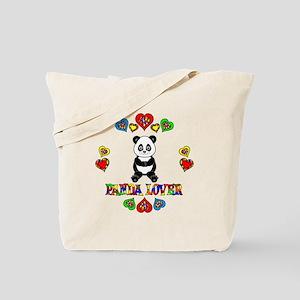 Panda Lover Tote Bag