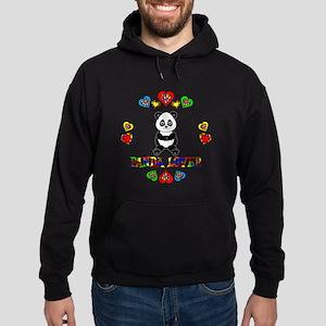 Panda Lover Hoodie (dark)