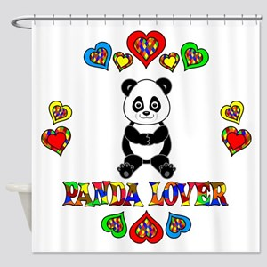 Panda Lover Shower Curtain