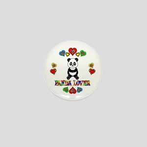 Panda Lover Mini Button