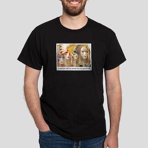 Venetian Masks Dark T-Shirt