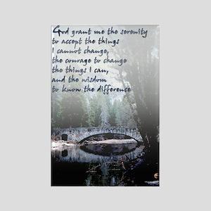 Serenity Prayer -Rectangle Magnet