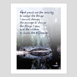 Serenity Prayer - Small Poster