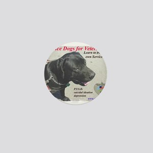 SERVICE DOGS Mini Button