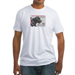 SERVICE DOGS Fitted T-Shirt