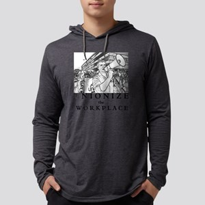 Unionize the Workplace Mens Hooded Shirt