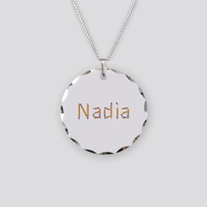 Nadia Pencils Necklace Circle Charm