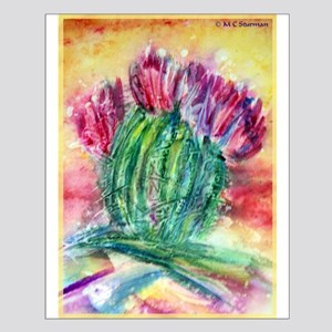 Cactus, Southwest art! Small Poster