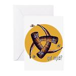Gat Mjöð Greeting Cards w/Bees (6/Pkg)