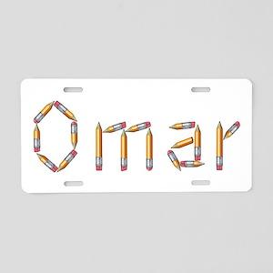 Omar Pencils Aluminum License Plate