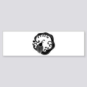 Rain dragon circle Sticker (Bumper)