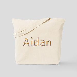 Aidan Pencils Tote Bag