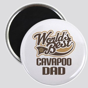 Cavapoo Dog Dad Magnet