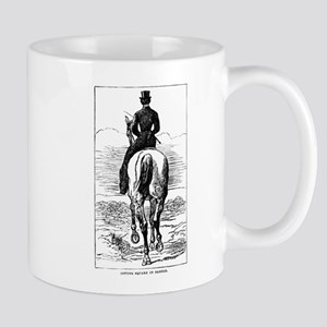 Square in the Saddle Mug