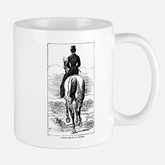 Square in the Saddle Mug