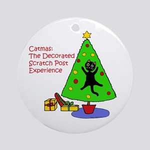 Catmas Experience Ornament (Round)