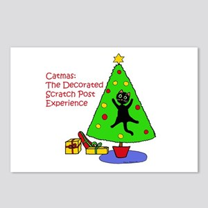 Catmas Experience Postcards (Package of 8)