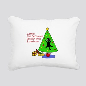 Catmas Experience Rectangular Canvas Pillow