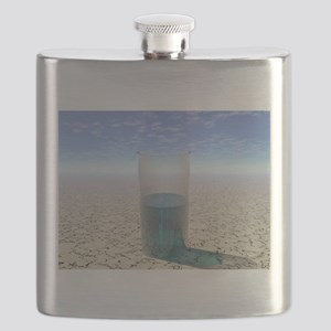 Glass of Water Flask