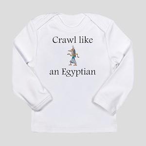 Crawl Like an Egyptian Long Sleeve Infant T-Shirt