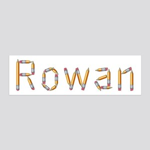 Rowan Pencils 36x11 Wall Peel