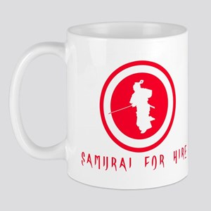 Samurai For Hire Mug