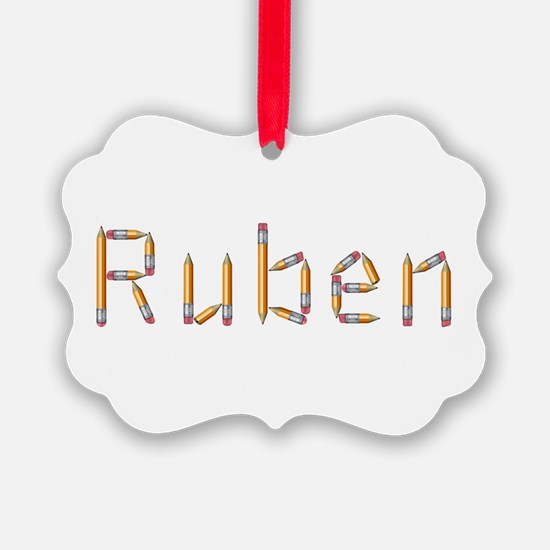 Ruben Pencils Ornament