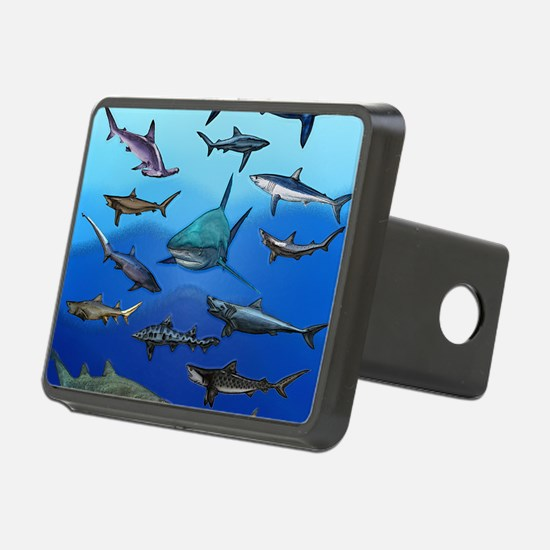Shark Gathering Hitch Cover