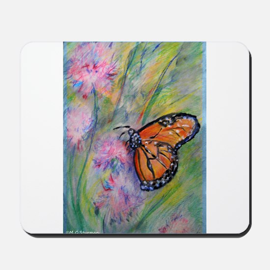 Bright, butterfly, art Mousepad