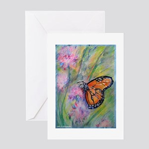 Bright, butterfly, art Greeting Card