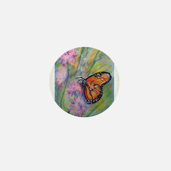 Bright, butterfly, art Mini Button