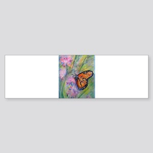 Bright, butterfly, art Sticker (Bumper)