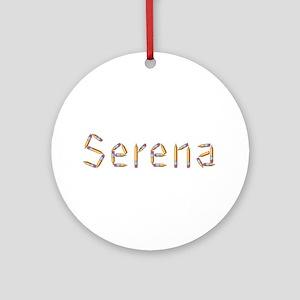 Serena Pencils Round Ornament
