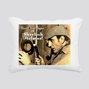 $19.99 Rathbone IS Sherlock! Canvas Pillow