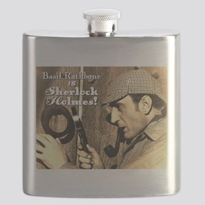 $19.99 Rathbone IS Sherlock! Flask