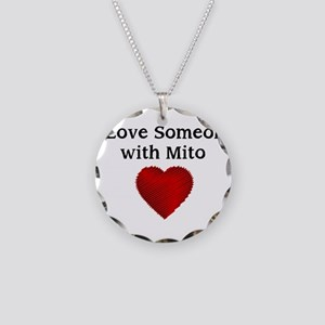 I Love Someone with Mito Necklace Circle Charm