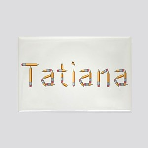 Tatiana Pencils Rectangle Magnet